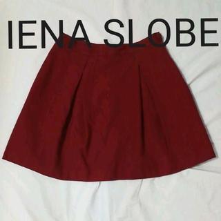 IENA SLOBE - ミニスカート フレアスカート IENA SLOBE