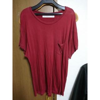 ジョンローレンスサリバン(JOHN LAWRENCE SULLIVAN)のジョンローレンスサリバン 赤シャツ(Tシャツ/カットソー(半袖/袖なし))
