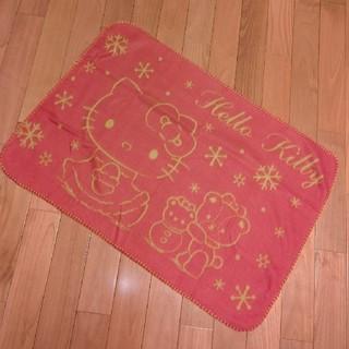 ハローキティ(ハローキティ)のHello Kitty ブランケット 1枚 ②(おくるみ/ブランケット)