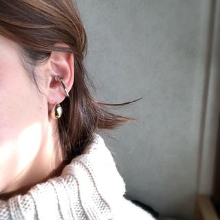 ドゥーズィエムクラス(DEUXIEME CLASSE)のシルバーイヤーカフ 片耳(イヤーカフ)