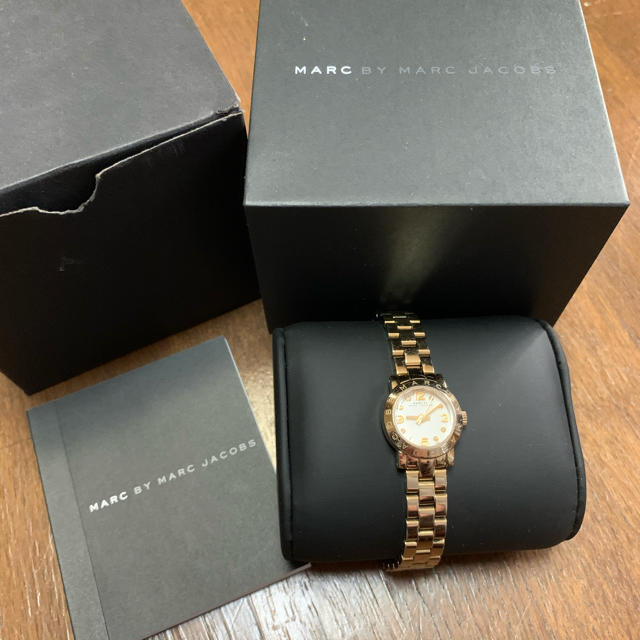 MARC BY MARC JACOBS - MARCBYMARCJACOBS/マークジェイコブス♡ピンクゴールド時計の通販