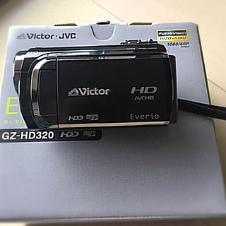 ビクター(Victor)のVictor ハイビジョン ハードディスクムービー(ビデオカメラ)