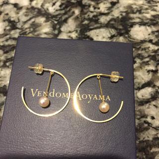Vendome Aoyama - 付属品完備 49860円 パールが揺れる ヴァンドーム  パールピアス