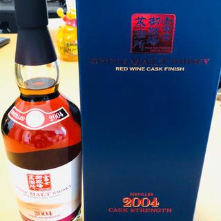 キリン(キリン)の富士御殿場 シングルモルトウイスキー 2004 赤ワインカスクフィニッシュ(ウイスキー)