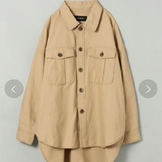 JEANASIS - BIGオーバーシャツジャケット☆新品