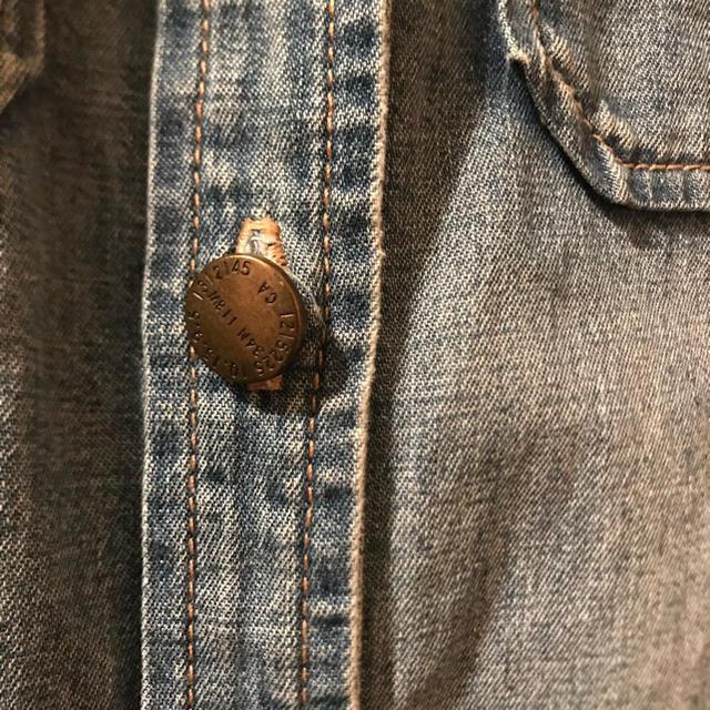 Current Elliott(カレントエリオット)のCurrent Elliott(カレントエリオット) デニムシャツ レディースのトップス(シャツ/ブラウス(長袖/七分))の商品写真