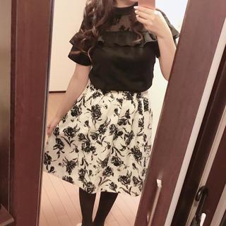 Avail - アベイル  ブラウス 花柄スカート  セット