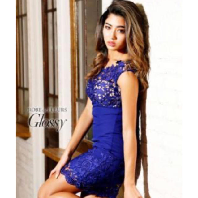 Andy(アンディ)のROBE de FLEURS★Glossy★ドレス レディースのワンピース(ミニワンピース)の商品写真