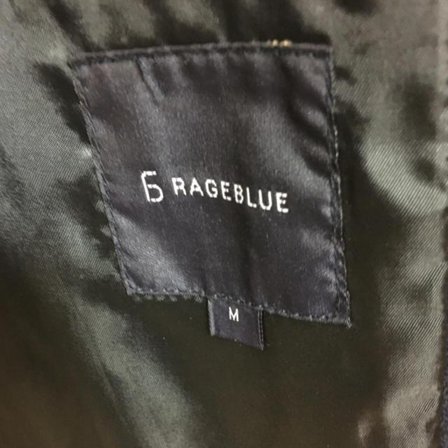 RAGEBLUE(レイジブルー)の【RAGEBLUE】チェスターコート メンズのジャケット/アウター(チェスターコート)の商品写真