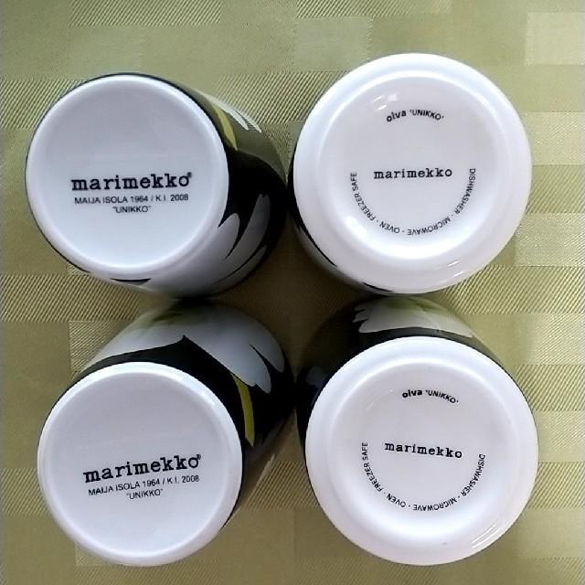 marimekko(マリメッコ)のマリメッコ ウニッコ/ラテマグ 廃盤・新旧 インテリア/住まい/日用品のキッチン/食器(テーブル用品)の商品写真