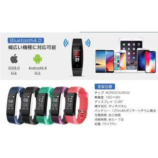 スマートウォッチ IP67防水 多機能スポーツウォッチ(紫)(腕時計(デジタル))