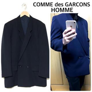 コムデギャルソン(COMME des GARCONS)のコムデギャルソンオム テーラードジャケット ダブル(テーラードジャケット)