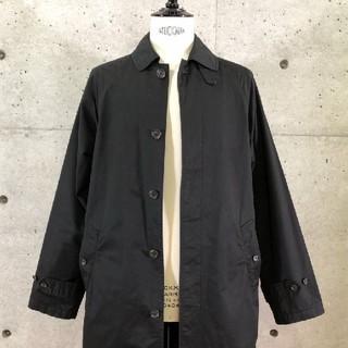 ポロラルフローレン(POLO RALPH LAUREN)のバーバリー 一枚袖 コート  黒 ラルフローレン バルマカーン ステンカラー(ステンカラーコート)