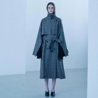 stein ray oversized overrap coat (トレンチコート)
