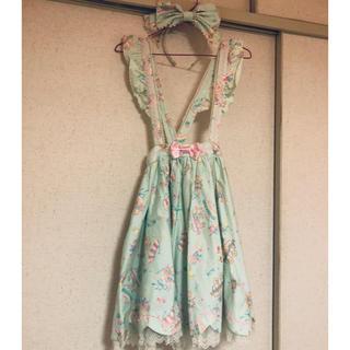 アンジェリックプリティー(Angelic Pretty)のAngelic Pretty☆candy fun fair スカート(ひざ丈スカート)