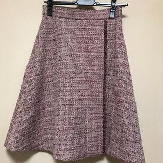 PROPORTION BODY DRESSING - PROPORTION ツイードフレアスカート