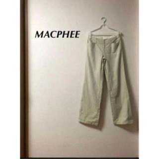 トゥモローランド(TOMORROWLAND)のMACPHEE パンツ(カジュアルパンツ)