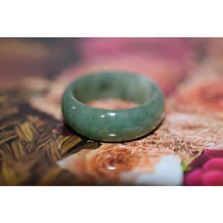 3-123 19.5号~20.0号 天然 A貨 翡翠 リング  硬玉ジェダイト(リング(指輪))