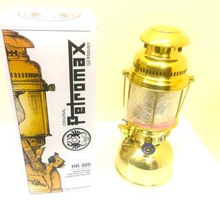 ペトロマックス(Petromax)のペトロマックス HK 500 ブラス 国内正規品 新品未使用(ライト/ランタン)
