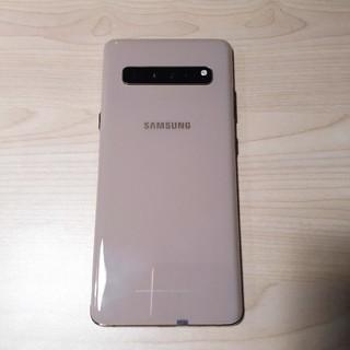 サムスン(SAMSUNG)の美品 Samsung Galaxy S10 5G 256GB ゴールド(スマートフォン本体)