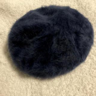 アズールバイマウジー(AZUL by moussy)のAZUL by moussy / ベレー帽 / ネイビー(ハンチング/ベレー帽)