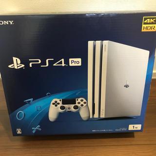 プレイステーション4(PlayStation4)のPlayStation®4 Pro グレイシャー・ホワイト 1TB CUH-7(家庭用ゲーム機本体)