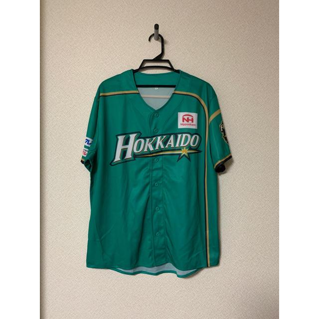北海道日本ハムファイターズ(ホッカイドウニホンハムファイターズ)の北海道日本ハムファイターズ WLH レプリカユニフォームF スポーツ/アウトドアの野球(応援グッズ)の商品写真