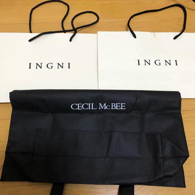 CECIL McBEE(セシルマクビー)のイング セシル ショッパー  レディースのバッグ(ショップ袋)の商品写真