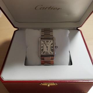 Cartier - カルティエ タンクソロLM w5200014