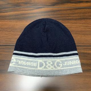 ドルチェアンドガッバーナ(DOLCE&GABBANA)のキッズ ニット帽(帽子)