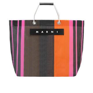Marni - マルニ ストライプバッグ マルシェバッグ ピクニックバッグ