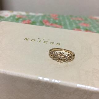 NOJESS - 値下げ中!ノジェス★K10ダイヤピンキーリング#3★agete、エテ好きにも!