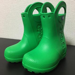 crocs - クロックス キッズ 長靴 レインシューズ