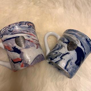 ロンハーマン(Ron Herman)のronherman   ロンハーマン  マーブル ペア マグカップ(グラス/カップ)
