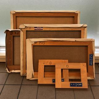 木枠 キャンバス使用済み 各サイズセット(ボードキャンバス)