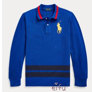 ラルフローレン(Ralph Lauren)の新作‼︎ ラルフローレン ポロシャツ 長袖 ビッグポニー 140センチ(Tシャツ/カットソー)