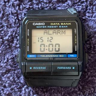 カシオ(CASIO)の値下げCASIO DB-55W 675 ベルトなし バネ棒付き ビンテージ 希少(腕時計(デジタル))