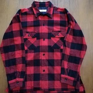 ユナイテッドアローズ(UNITED ARROWS)のモンキータイム ヘビーツイルシャツ ネルシャツ チェックシャツ(シャツ)