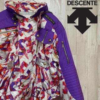 DESCENTE - 【デサント】ナイロンジャケット/スキーウェア/スノーボード/90sデザイン