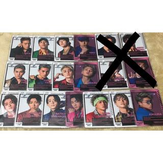 EXILE TRIBE - fantastics カードセット