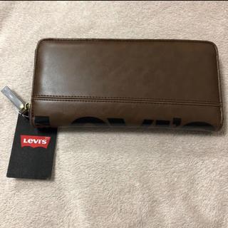 リーバイス(Levi's)の新品タグ付き リーバイス ラウンドファスナー 長財布 エコレザー 小銭入れ(長財布)