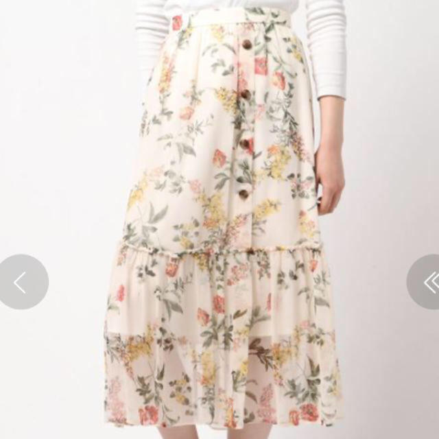 Rirandture(リランドチュール)の新品🌷リランドチュール エアリーボタニカルスカート レディースのスカート(ロングスカート)の商品写真