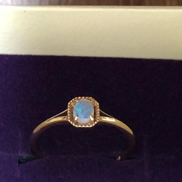 NOJESS(ノジェス)のノジェス オパール リング K10 レディースのアクセサリー(リング(指輪))の商品写真