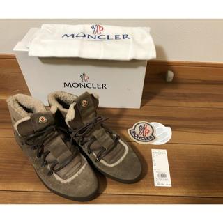 モンクレール(MONCLER)の★新品未使用★ モンクレール MONCLER メンズブーツ  ムートン 42(ブーツ)