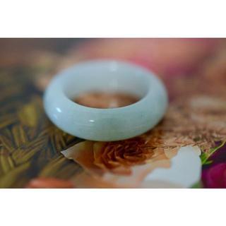 7-123 15.0号 天然 A貨 翡翠 リング 硬玉ジェダイト(リング(指輪))