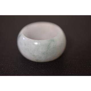 8-123 23.0号〜24.0号 板指 天然 A貨 翡翠 リング 硬玉(リング(指輪))
