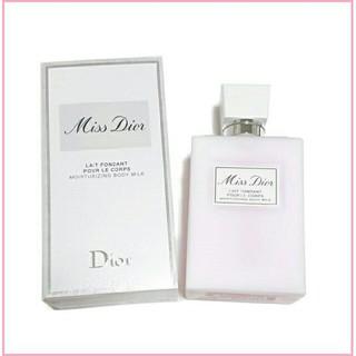 クリスチャンディオール(Christian Dior)のほぼ新品★ディオール Dior ミスディオール ボディミルク 200ml 現品(ボディローション/ミルク)