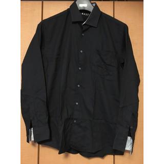 アオキ(AOKI)のAOKI ワイシャツ 黒 MAJI(シャツ)