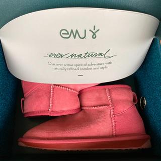 エミュー(EMU)のEMU ムートンブーツ ピンク(ブーツ)
