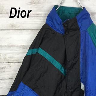 クリスチャンディオール(Christian Dior)のクリスチャン ディオール ナイロン ムッシュ 90s ブルゾン ビンテージ(ナイロンジャケット)